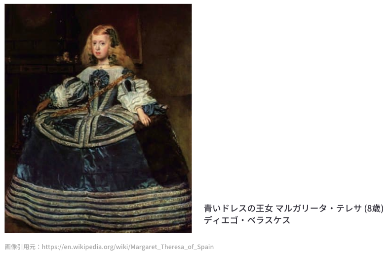 青いドレスの王女