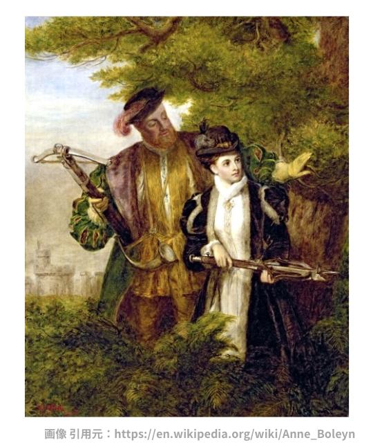 ロンドン塔の幽霊と、ワタリガラスの逸話 (アン・ブーリンの肖像画)