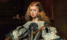 青いドレスの王女 マルガリータ・テレサ