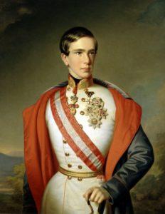 エリザベートの夫 フランツヨーゼフ