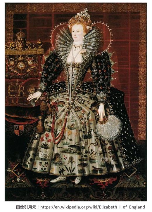 アン・ブーリンの娘、エリザベス1世