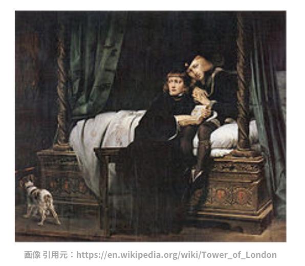 ロンドン塔の幽霊と、ワタリガラスの逸話