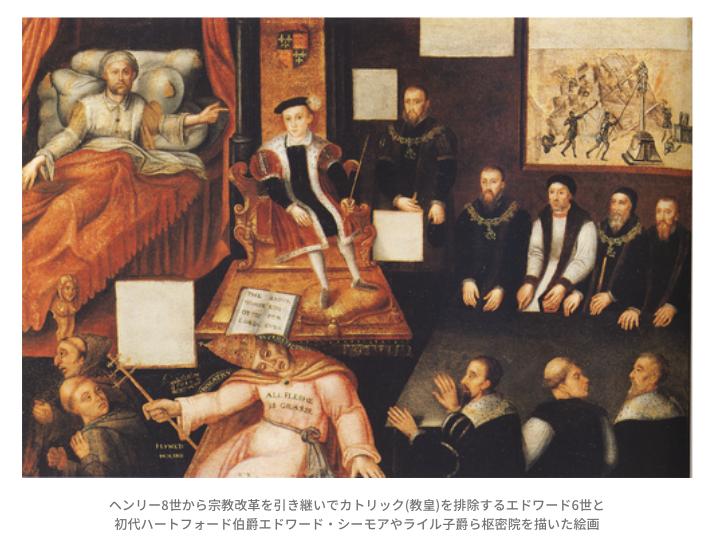 エドワード6世とジョン・ダドリー