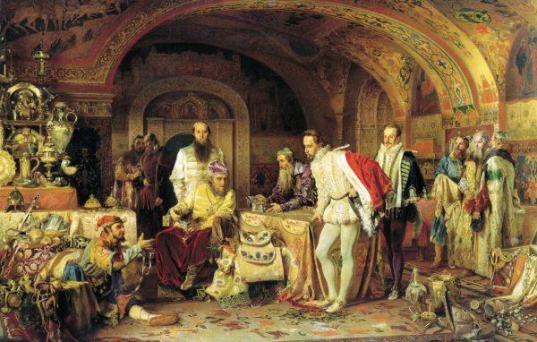 イワン雷帝と愛妻アナスターシャ