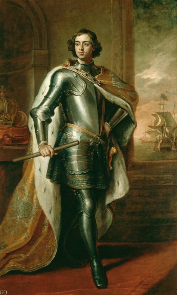 ゴッドフリー・ネラーによるピーター1世の肖像