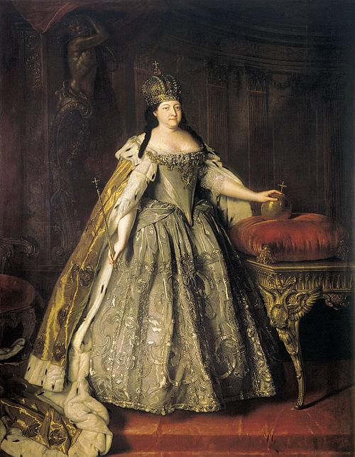 ロマノフ王朝 女帝アンナ