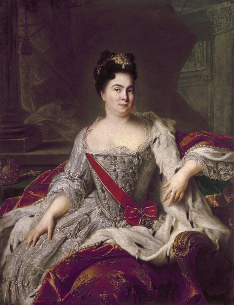 ナティエによるキャサリンの肖像
