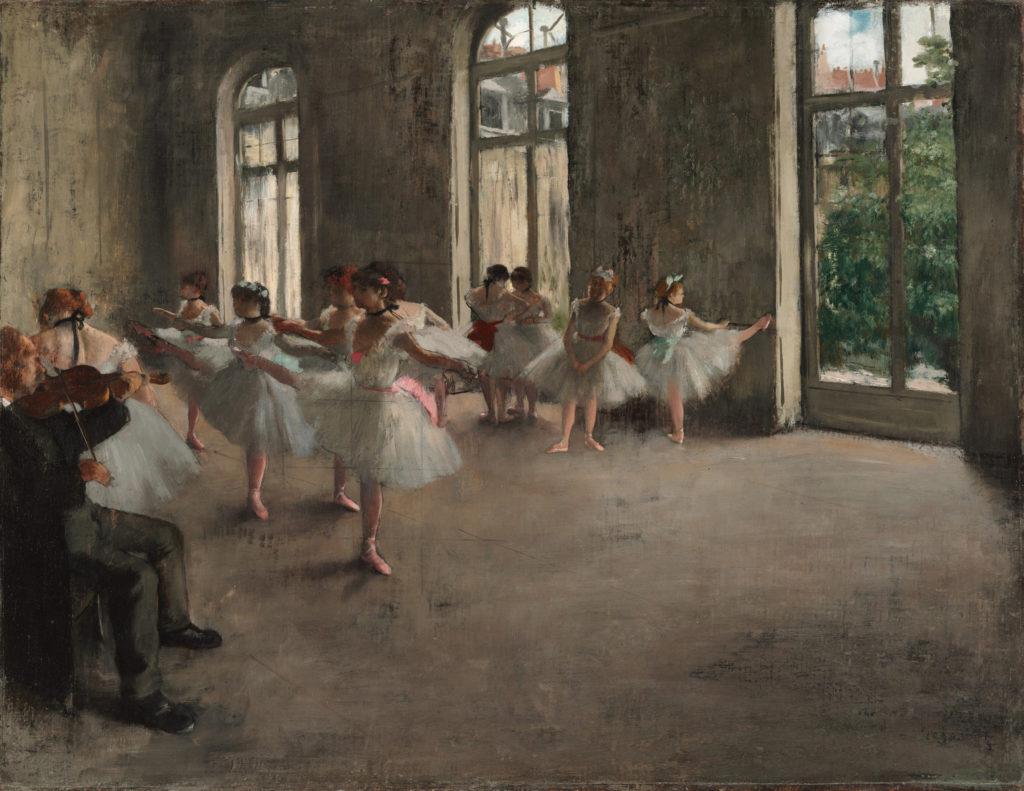 エドガー・ドガ Ballet Rehearsal, 1873