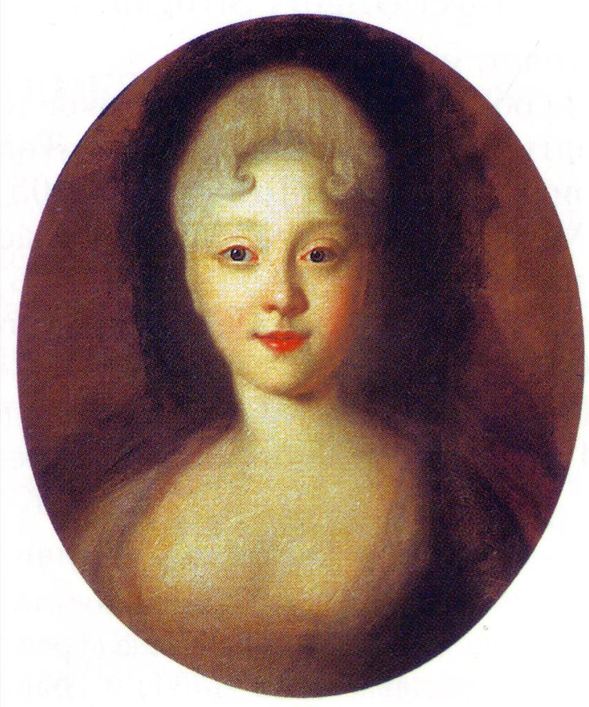 1720年代のエリザベス(イヴァン・ニキティク・ニキティンが描いた)