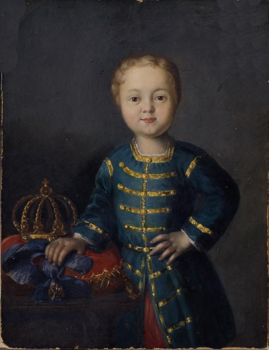 ロシア皇帝の肖像Ivan VI Antonovich(1740-1764)