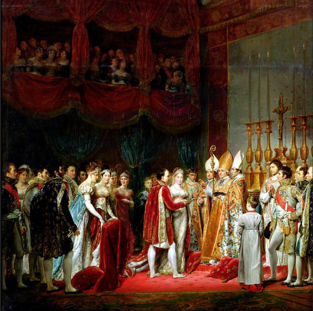 ナポレオンとの結婚式 (画)ジョルジュ・ルジェ