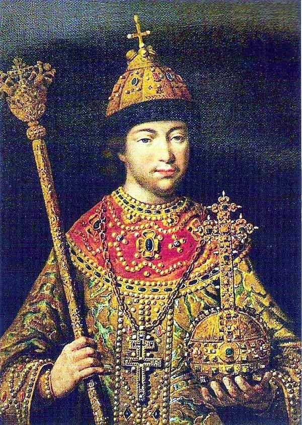 ロマノフ王朝の始祖 幼い頃のミハイル