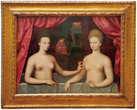 ガブリエル・デストレとその妹