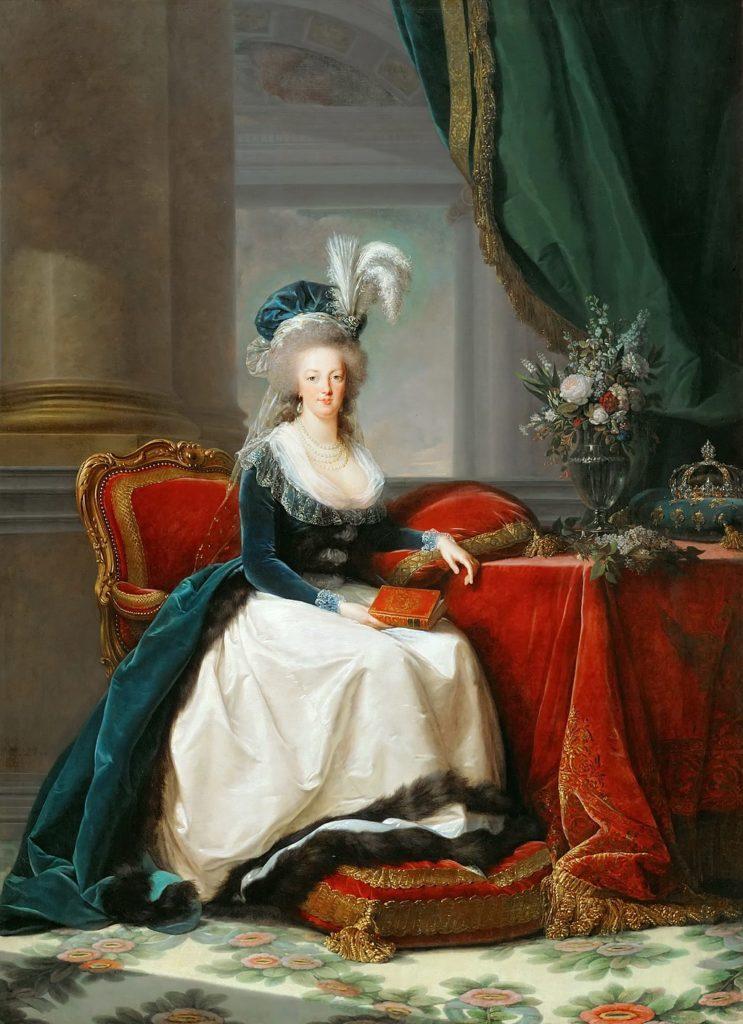 マリー・アントワネット1788年の肖像画
