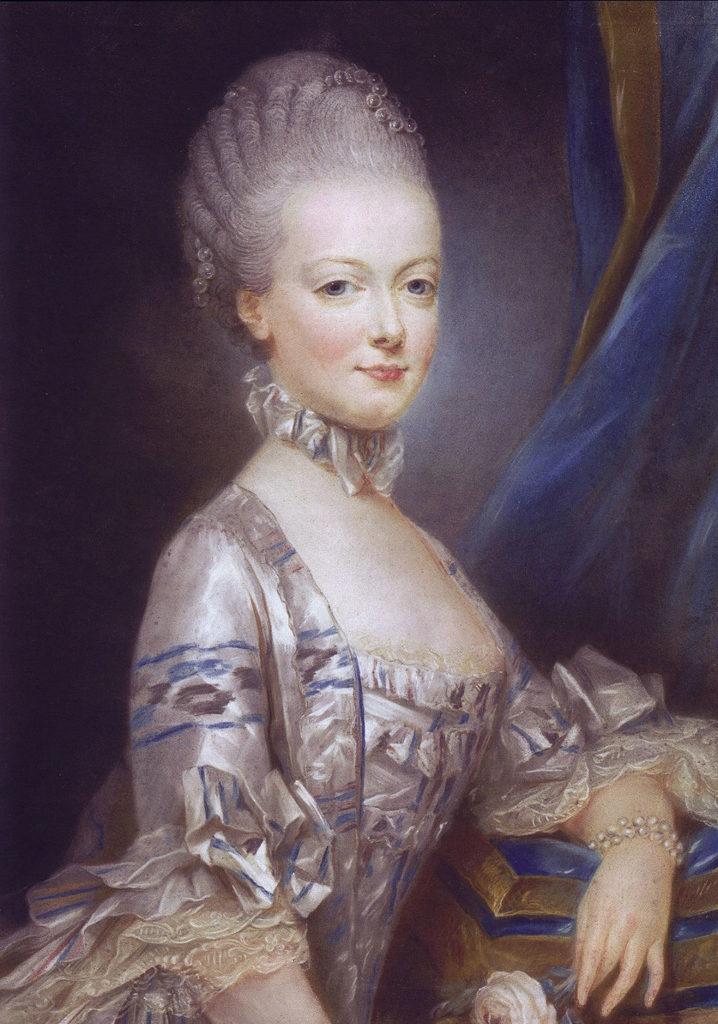 1769年の肖像画(ジョゼフ・デュクルー画)
