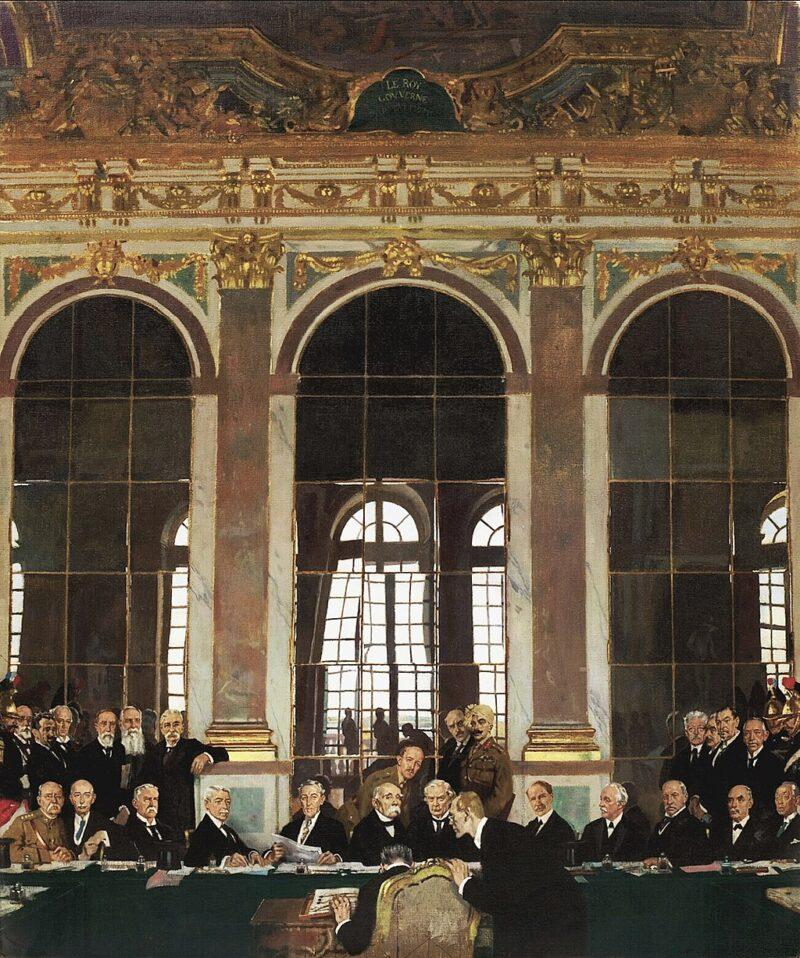 ルイ14世の時代のヴェルサイユ宮殿