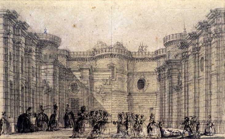 バスティーユ牢獄
