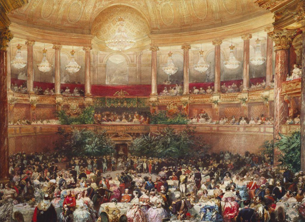 ヴェルサイユ宮殿 舞踏会の様子