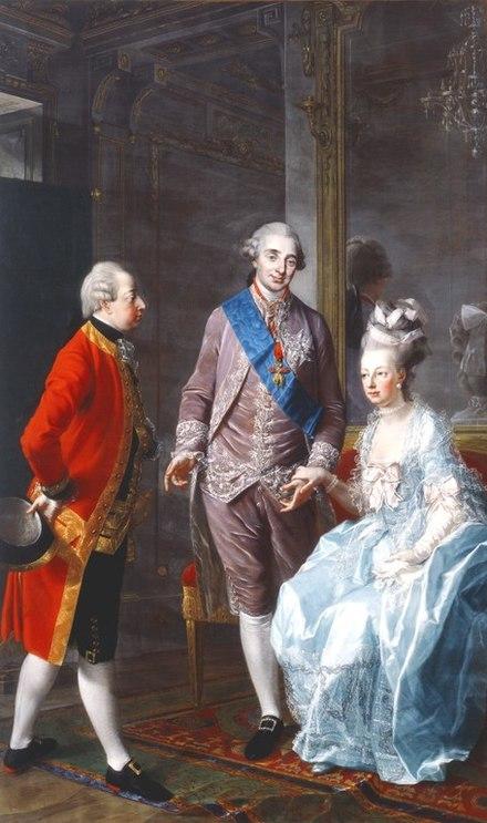 マリー・アントワネットとルイ16世