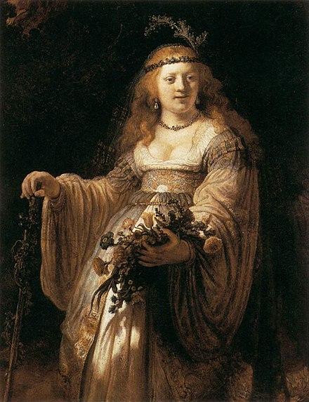 レンブラントの愛妻 サスキア