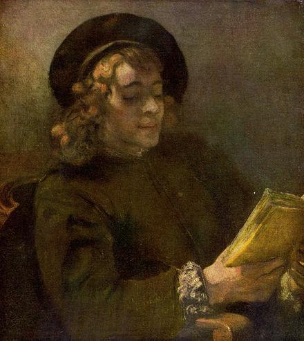 1668年9月4日(26歳)レンブラントの息子ティトゥス