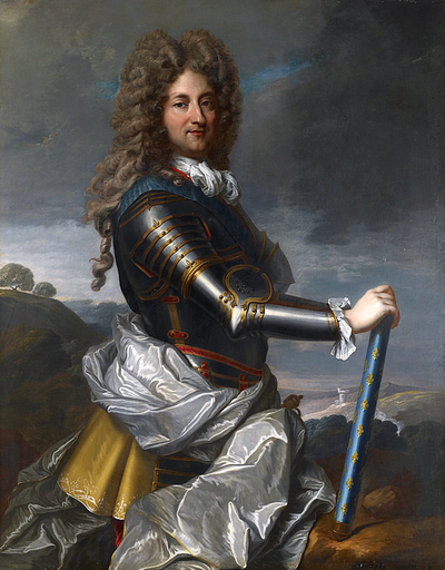 ルイ15世とポンパドュール夫人 摂政フィリップ