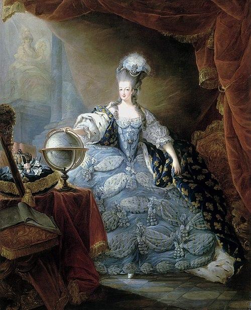 王妃となったアントワネット (1775年)