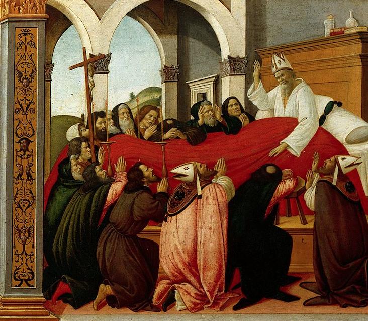 聖ゼノビウスの生涯の四つの場面をわかりやすく解説 (4枚目)