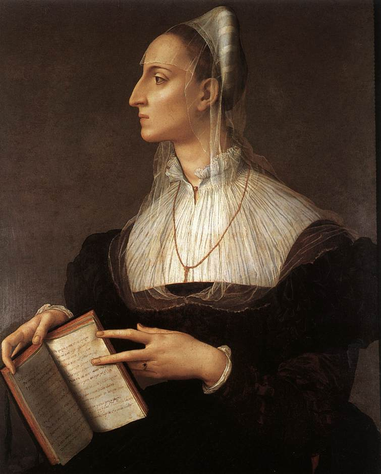 Portrait of Laura Battiferri, 1555–60