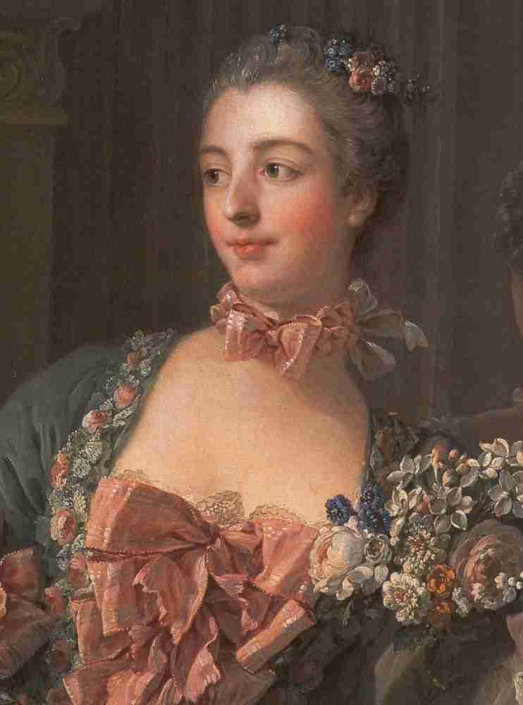 Portrait of the Marquise de Pompadour (1721-1764)