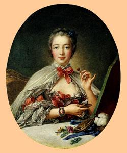 Madame de Pompadour by François Boucher, 1758