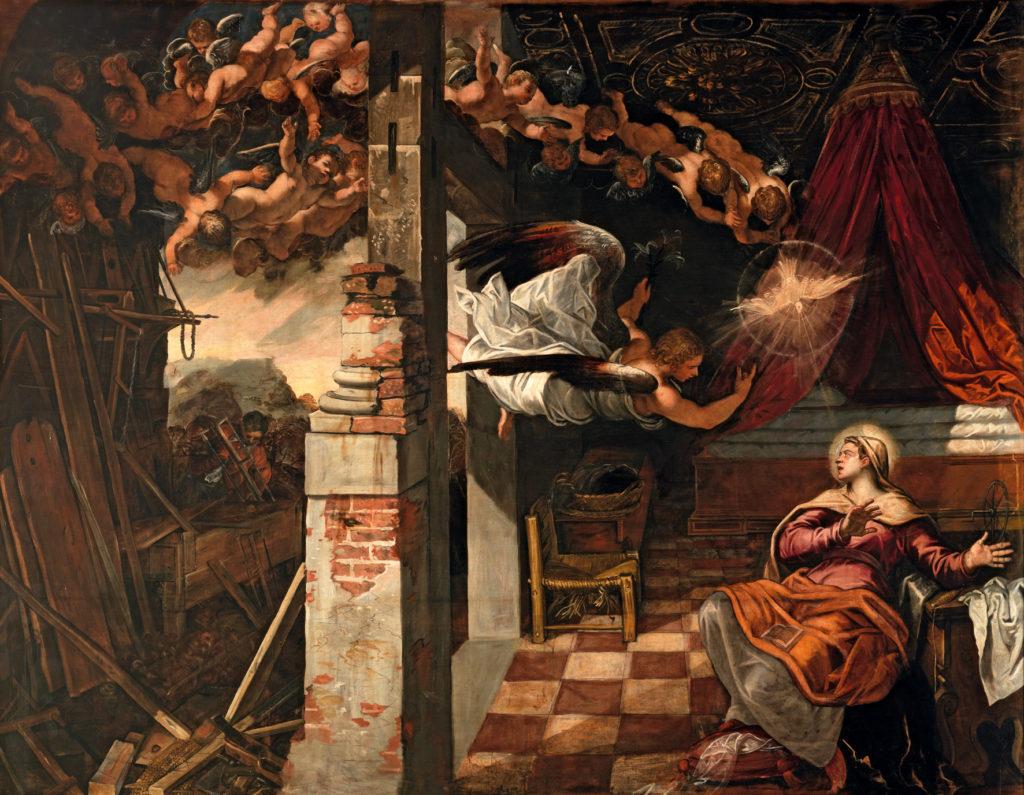 ティントレット、1582年 - 1587年、サン・ロッコ同信会館収蔵