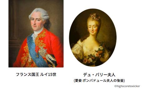 マリー・アントワネットの首飾り事件 (ルイ15世の愛妾デュ・バリー夫人)