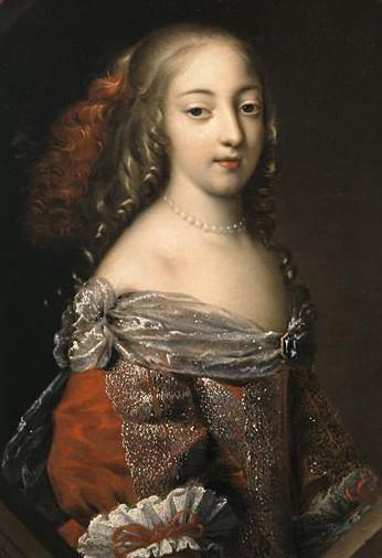 (Detail of Marie Thérèse d'Autriche by Nocret)
