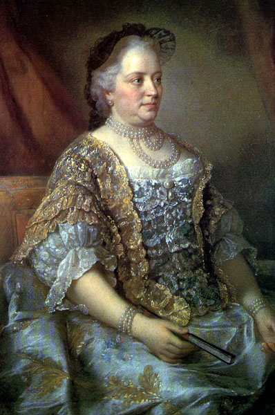 マリアテレジア Maria Theresa in 1762, by Jean-Étienne Liotard