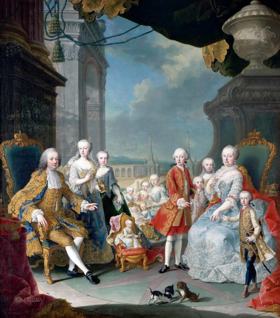マリア・テレジアと家族たち