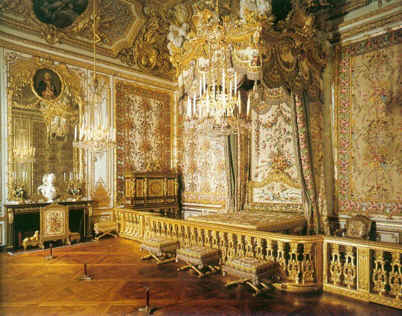 ヴェルサイユの女王の部屋