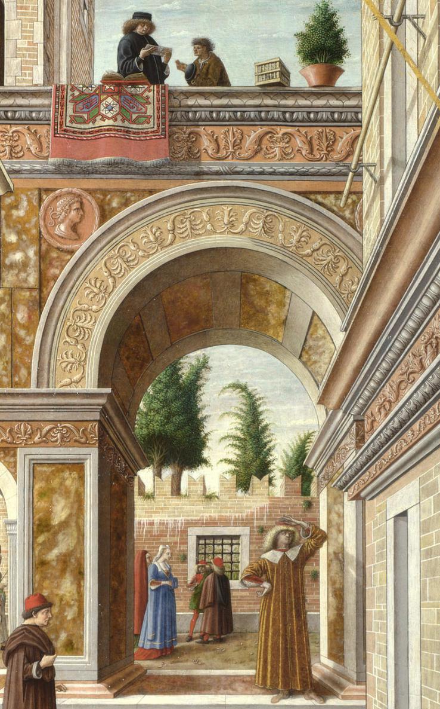 【美しすぎる聖母マリア】クリヴェッリの聖エミディウスを伴う受胎告知を読む