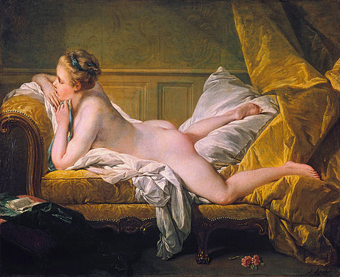 ルイ15世と、ポンパドュール夫人とオミュルフィ