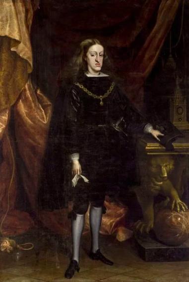 カルロス2世(チャールズ5世)の家系図