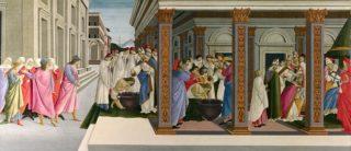 聖ゼノビウスの生涯の四つの場面をわかりやすく解説 (1枚目)