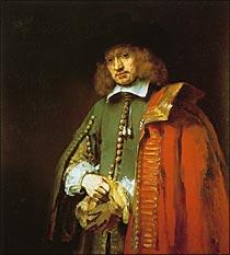 レンブラント ヤン・シックスの肖像画