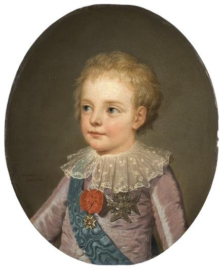 マリー・アントワネットの子供 ルイジョセフ