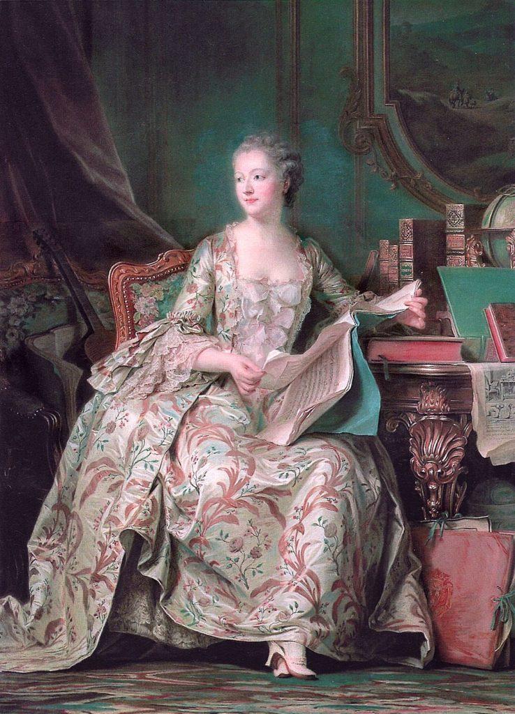 ルイ15世の寵姫ポンパドゥール夫人
