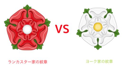 薔薇戦争をわかりやすく解説