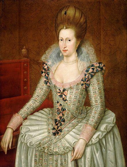 ジェームズ1世の妻 アン・オブ・デンマーク