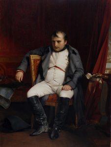 退位後のナポレオン