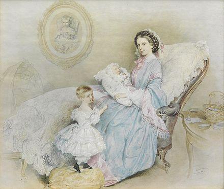 エリザベートと子供達