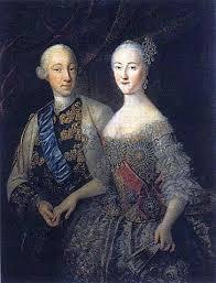ピョートル3世とキャサリン (エカチェリーナ)