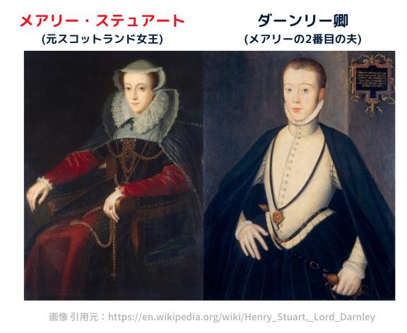 メアリー・ステュアートと、ダーンリー卿